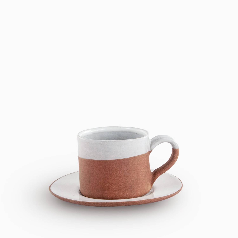 Bc mug with saucer Tonsat Velvet