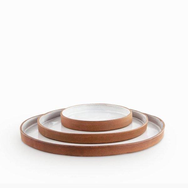 Contemporary 3 plates