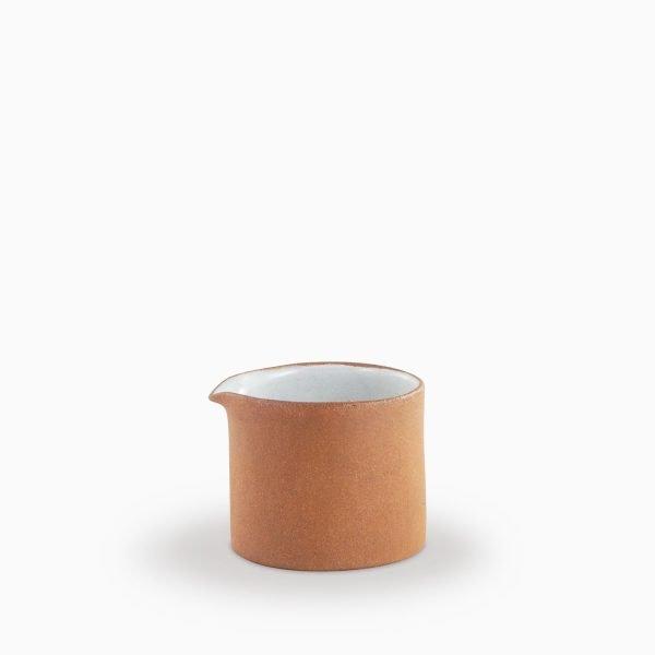 680800636 Mini jug Natural and White Velvet
