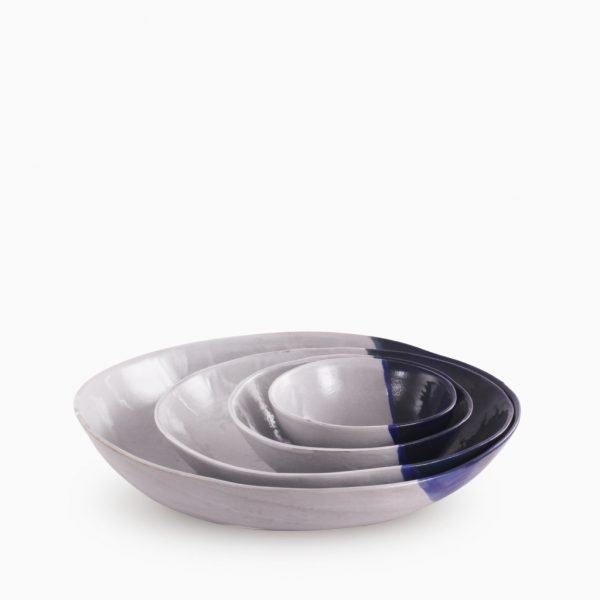 blue ream bowl set