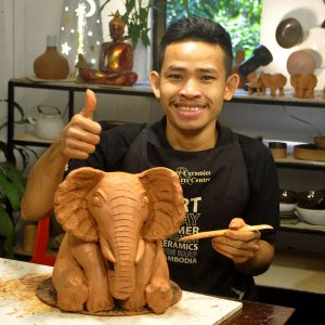 Clay-Elephant-Modeling-Classes